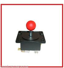 HAPP 4 way Red Ball Arcade Game Joystick Ball Ms. PacMan Galaga Multicade Reunin