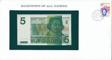 Banknotenbrief - Netherlands / Niederlande - 5 Gulden 1973 UNC