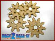 Steampunk Cogs Gears Wheel Laser Cut MDF Decorative Accessory 100mm x 3mm COG7
