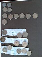 monnaies lybie zimbabwe liban guinee swaziland rwanda zambie algerie cogo botwan