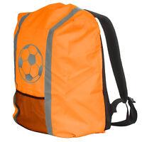 Regenschutz für Schulranzen Rucksack Schutzhülle Reflektor Überzug Regen Orange