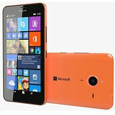 New Microsoft Lumia 640XL Orange 8GB 13MP 4G LTE Windows Unlocked Smartphone