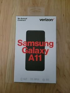 Samsung Galaxy A11 SMA-115U 4G LTE (Locked to Verizon Prepaid)