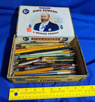 Huge Lot Antique-VTG Pencil Pen Advertising Drafting Art Collectible Farm Lumber