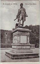Italy Torino - Mon. a Pierro Micca old unused postcard