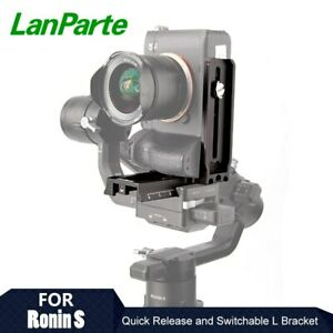 Lanparte L Vertical Plate Adapter Holder for Video Camera Mount on DJI Ronin S