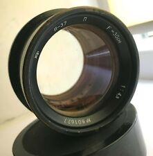 "Industar 37 ""P"" f4.5/300mm lens FOR FKD RUSSIAN WOODEN CAMERA"
