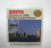 Sunpak 37/46/52/55/58/62/72/77mm CPL Filter for Canon Nikon Sony Panasonic*au