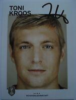 ⭐⭐ TONI KROOS ⭐⭐ Original Autogramm / Autogrammkarte ⭐⭐ WM 2014 ⭐⭐ Real Madrid⭐⭐