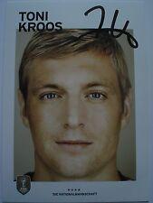 Toni Kroos Autogramm real Madrid Autogrammkarte