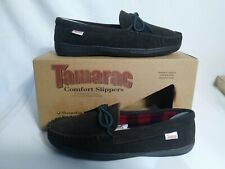 Tamarac by Slippers International 7161PF Mens Trailer Moccasin,Rootbeer, 10M