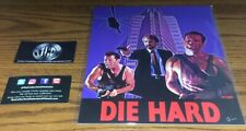 Bam! Exclusive Die Hard Yippee-Ki-Yay Art Print Signed By Oscar Van Le 2000