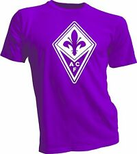 ACF Fiorentina Italy Calcio Football Soccer T Shirt Maglietta UEFA Europe  New 1 ec7d64605