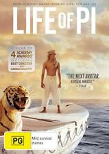 LIFE OF PI : NEW DVD