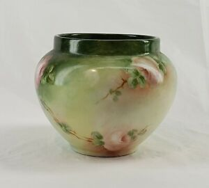 "Vintage Limoges France William Guerin & Co 1891-1932 Vase Almost 90 Years old 4"""