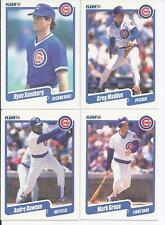 1990 Fleer Chicago Cubs Team Set