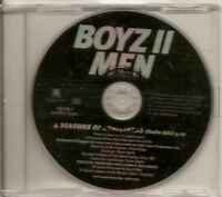 BOYZ II MEN 4 Seasons Of Loneliness RADIO EDIT PROMO CD SINGLE