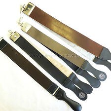 YNR England Cow Leather Strop Cut Throat Shaving Razor Barber Sharpening Tools