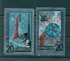Russie - USSR 1965 - Michel n. 3042/43 - Journée de la cosmonautique