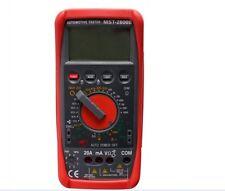 Professional Digital Tachometer meter Tach Dwell Tester Multimeter