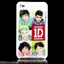 1D One Direction Hard Back Case for iPod Touch 4 - 4th Gen