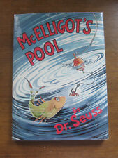 McElligot's Pool by Dr. Seuss 1st/early printing HCDJ - 1947  - 295/295 -  VG++
