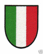 PATCH RICAMO TOPPA SCUDETTO ITALIA BANDIERA