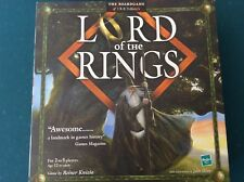 Lord of the Rings Board Game New Sealed contents