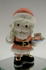Precious Moments Figurine Santa with Plate of Cookies 2014 141020 Bx FreeusaShp