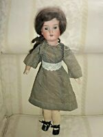 "Antique Armand Marseille A 5 M 390 Bisque Wood Gorgeous Doll 20"" Wig (B1 00E)"
