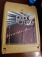 """PABLO CRUISE """"WORLDS AWAY"""" STEREO 8 TRACK TAPE A&M 8T-4697  tested"""