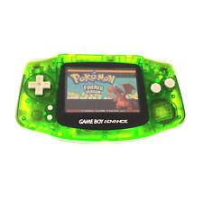 Transparent Green Game Boy Advance w/ AGS-101 Brighter Backlight Screen
