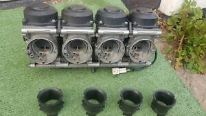 Yamaha R6 5eb Carbs Carburettors 2002 Model Complete With Tps Ready To Use