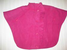 NWT Gymboree fashionable Fox size 7-8 Pink Cape Coat Jacket