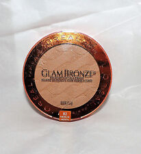 L'OREAL GLAM BRONZER * FACE & BODY SUNKISSED LOOK * 02 MEDIUM * NEW FULL SIZE