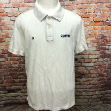 EUC GAASTRA MEN'S WHITE COTTON MESH POLO SHIRT SIZE XXL A05-07