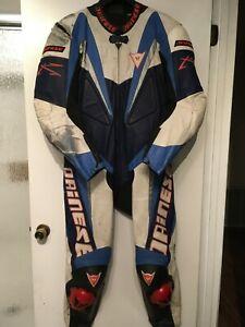 Dainese 1 piece race suit size 48 EU / 58 US leather suit motorcycle