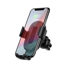 Qi Wireless Ladegerät Autohalterung Handy Smartphone Halterung Lüftungshalterung