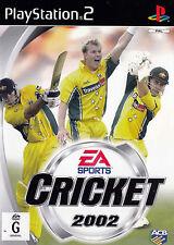 CRICKET 2002 PlayStation 2 Game  PS2