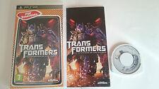 Uni Complete Transformers the Venganza DE LOS CAIDOS Sony PSP PAL España.