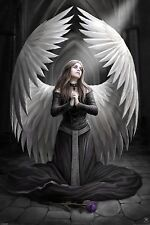 3D Picture Gothic Art Anne Stokes Prayer For The Fallen Size 39x29 cm appx New
