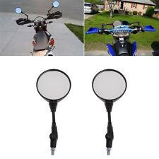 Par Moto Redondo Espejos Retrovisores Mirrors Plegable For Honda KTM Motocicleta