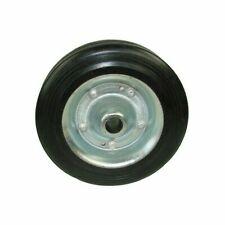 Maypole Trailer Spare Jockey Steel Wheel With Solid Rubber Tyre 200mm MP228