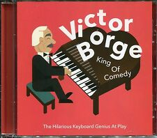 VICTOR BORGE KING OF COMEDY CD - THE HILARIOUS KEYBOARD GENIUS AT PLAY