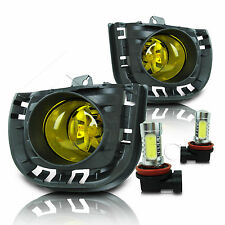 14-16 Scion TC Fog Lamps w/Wiring Kit & High Power COB LED Bulbs - Yellow