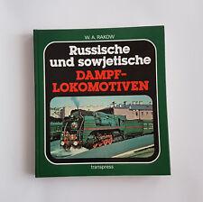 Russische und sowjetische Dampflokomotiven, Transpress, DDR, Eisenbahntechnik
