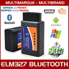 INTERFACE ELM327 BLUETOOTH OBDII MULTIMARQUES OBD OBD2 - VALISE SCANNER