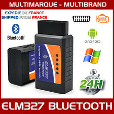 ELM327 Bluetooth v2.1OBD2 interface de diagnostic multi marques pour pc Android