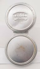 Rare - Zeiss Ikon Contaflex TLR Camera Push On Metal Lens Cap - Well Used