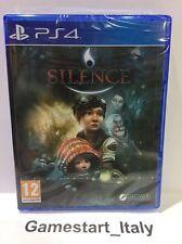 SILENCE - SONY PS4 - NUOVO SIGILLATO NEW SEALED PAL VIDEOGIOCO PLAYSTATION 4